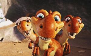 Динозаврики из Ледникового периода
