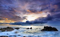Море на рабочий стол Песок и море на рабочий стол обои пляж