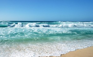 Море на стол Песок и море на рабочий стол обои пляж