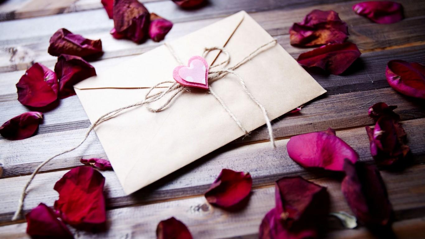 <p>Письмо любви</p>