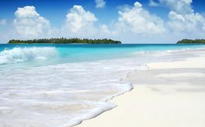 Пляж обои море на рабочий стол