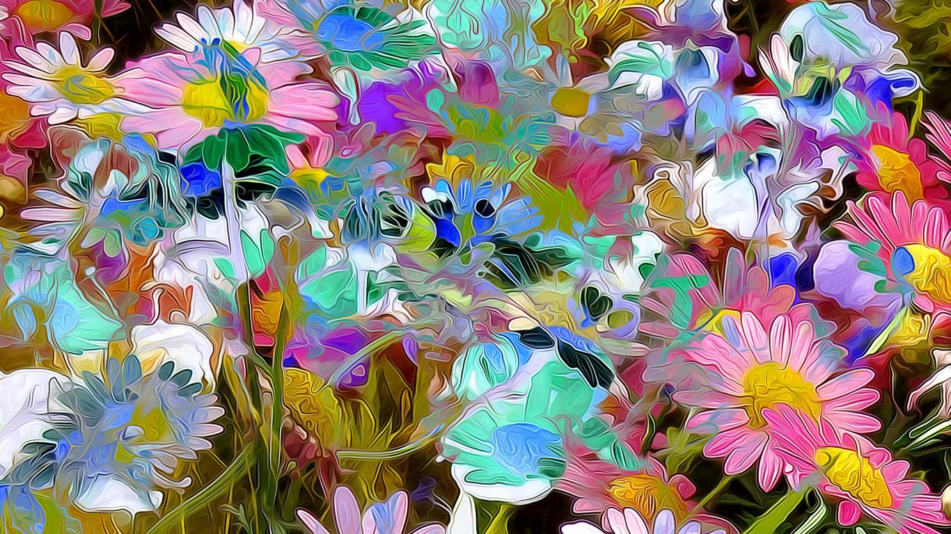 Обои цветок, абстракция. Абстракции foto 14