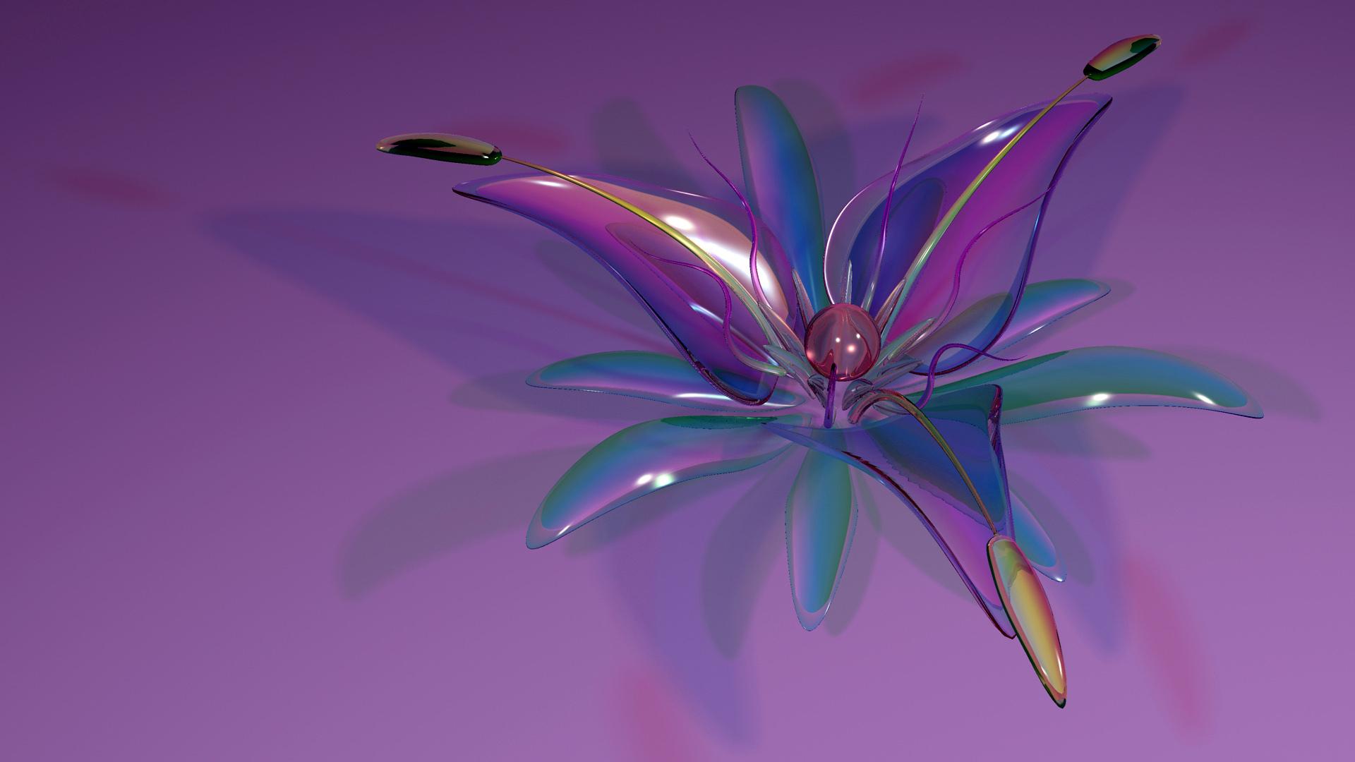 <p>Стеклянный цветок</p>