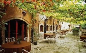 Италия улицы кафе деревья обои на рабочий стол города страны высокого качества