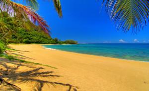Песок и море на рабочий стол обои пляж