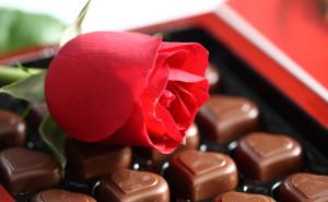 Шоколад любовь романтика обои выского качества