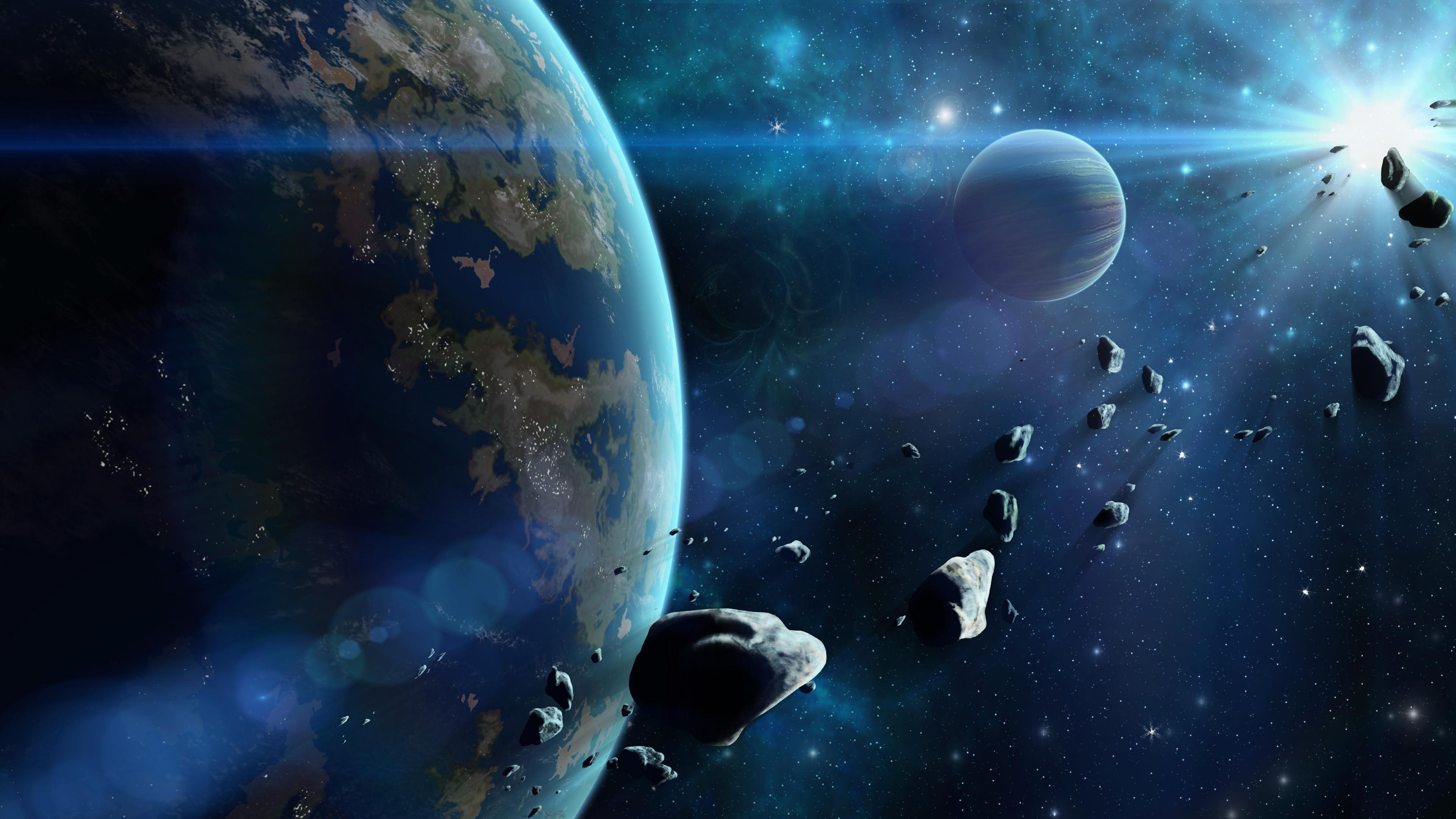 <p>Астероиды</p>