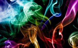 Цветной дым обои на рабочий стол абстракции скачать
