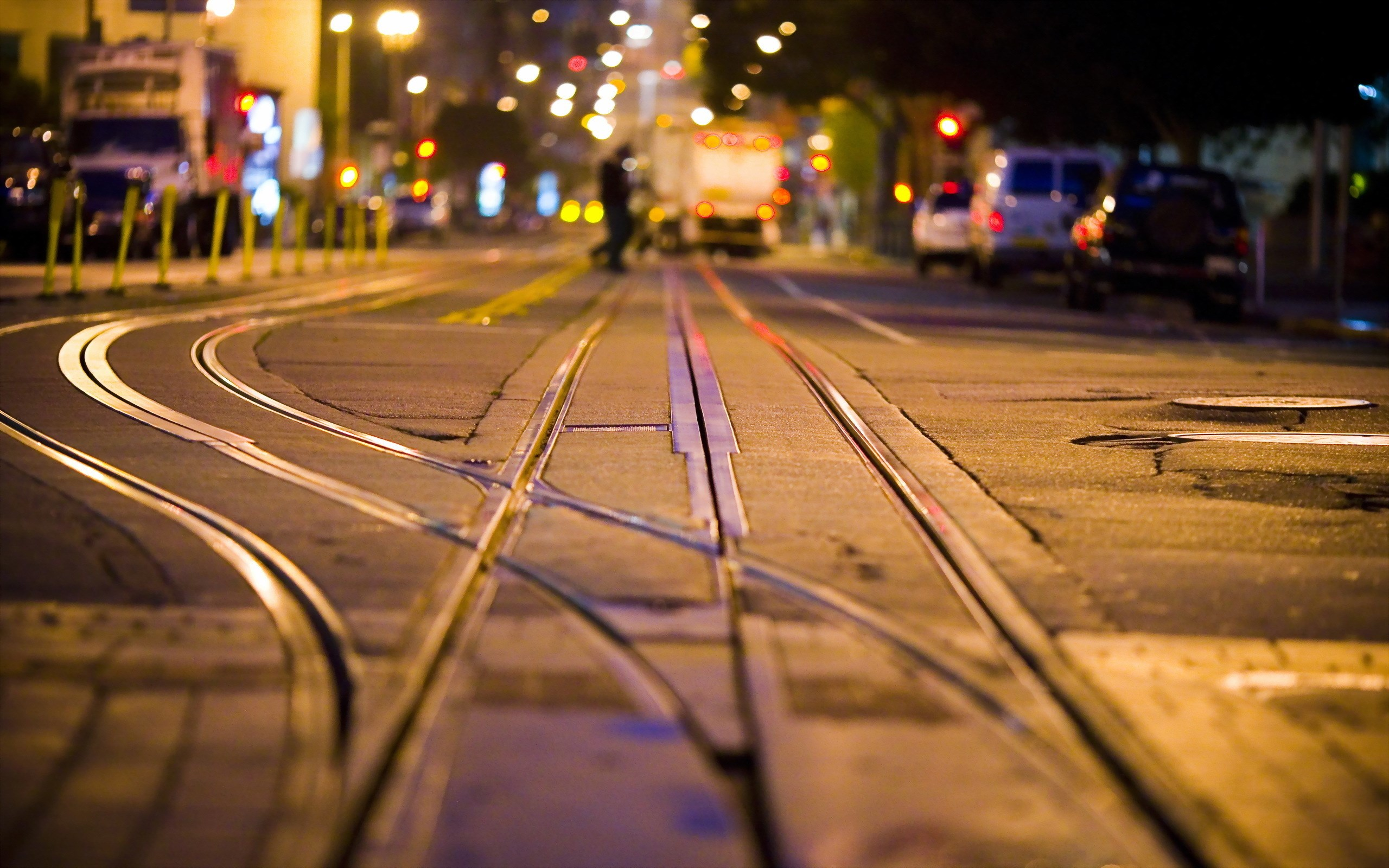 <p>Трамвайный путь</p>