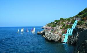 Италия море корабль берег обои на рабочий стол города страны высокого качества