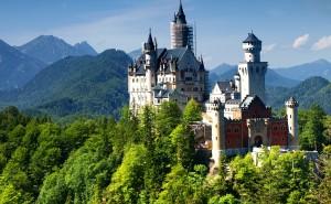 Замок на рабочий стол пейзаж обои высокого качества