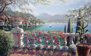 средиземноморье живопись обои на рабочий стол