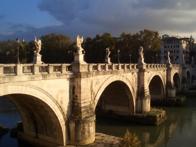 <p>Мост святого ангела</p>