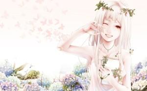 рисунок боуно сатоши девушка