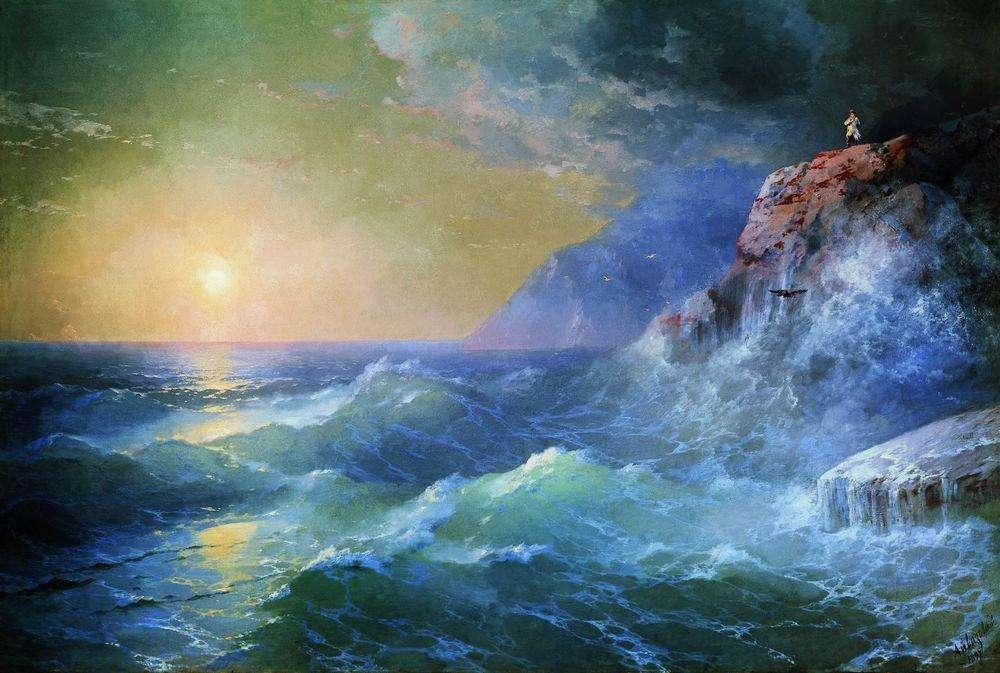 <p>Морской пейзаж</p>