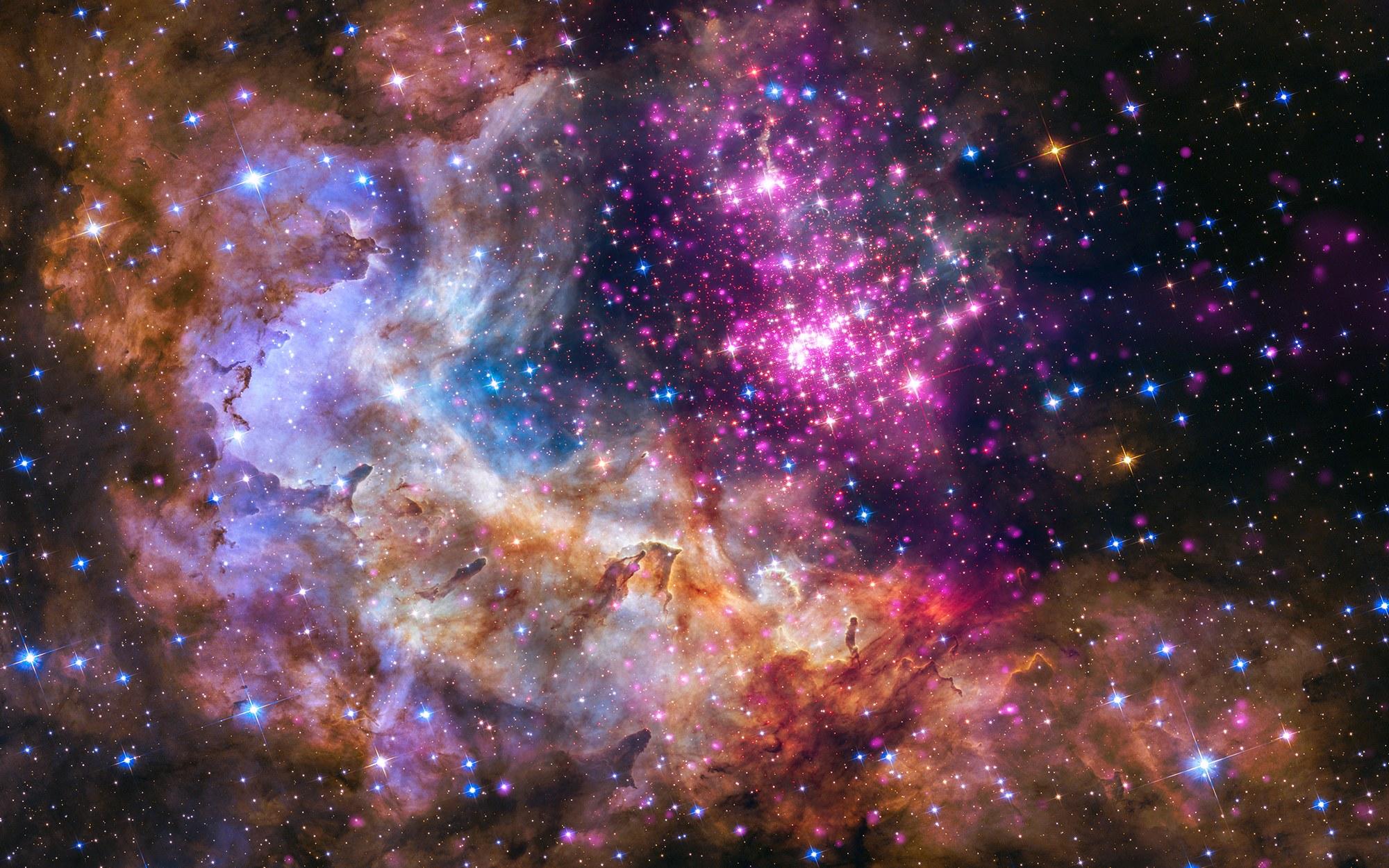 <p>Яркая галактика</p>