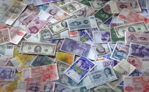 Деньги на рабочий стол валюта евро доллар