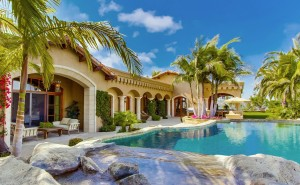 Дом вилла обои интерьер, дизайн, стиль, офис дом скачать обои на рабочий стол home, villa, pool, дом, вилла, бассейн, пальмы. уют роскошь красиво