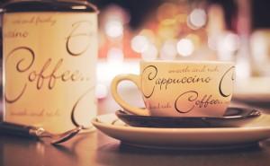 Чашка капучино вкусно коффе