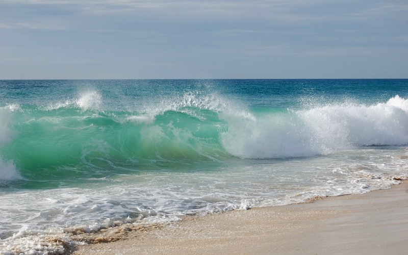 <p>Пляж и море</p>