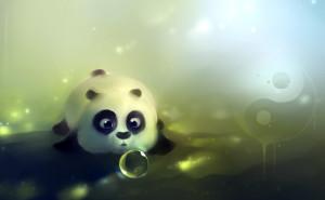 Графика панда