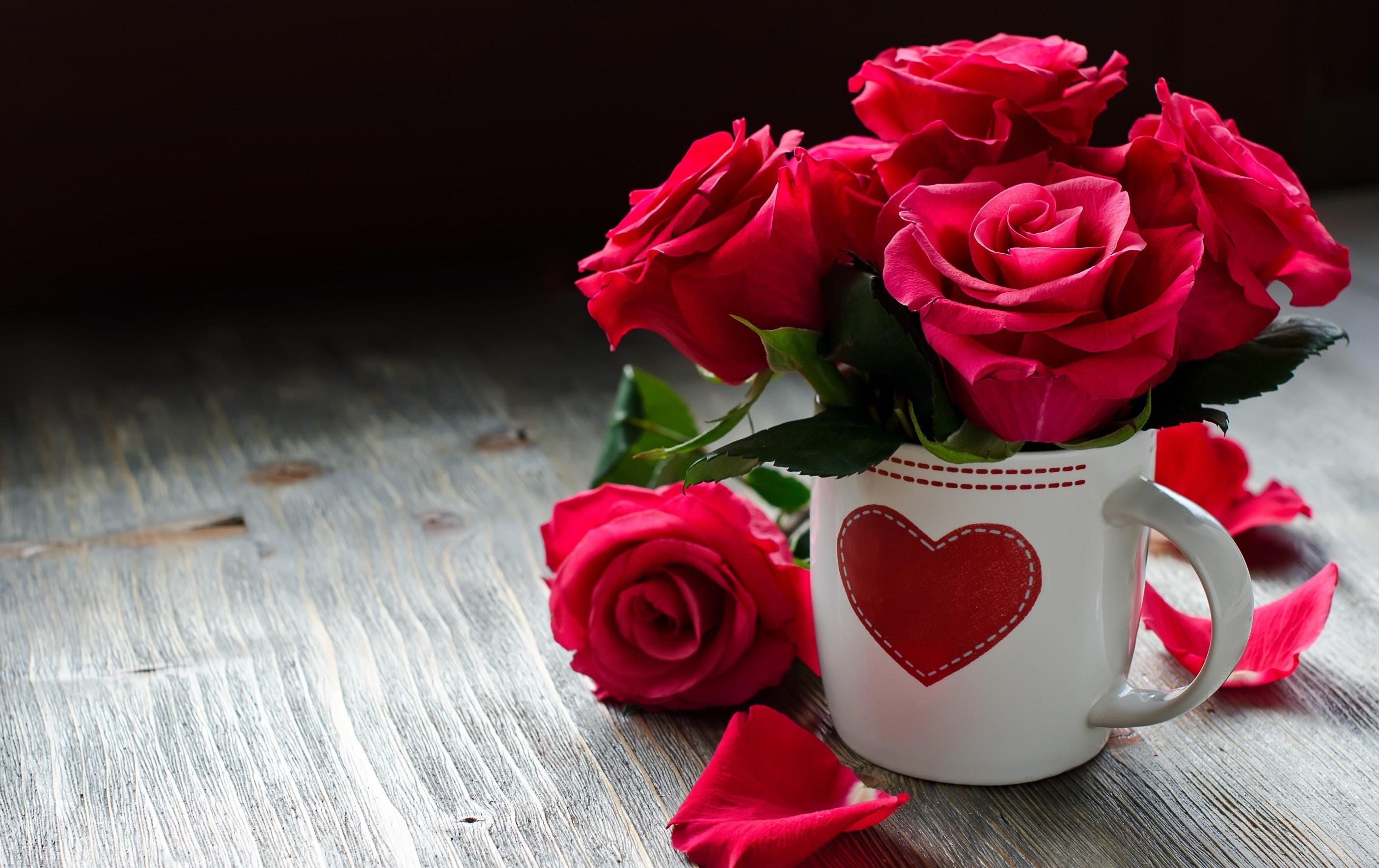 <p>Розы в кружке</p>