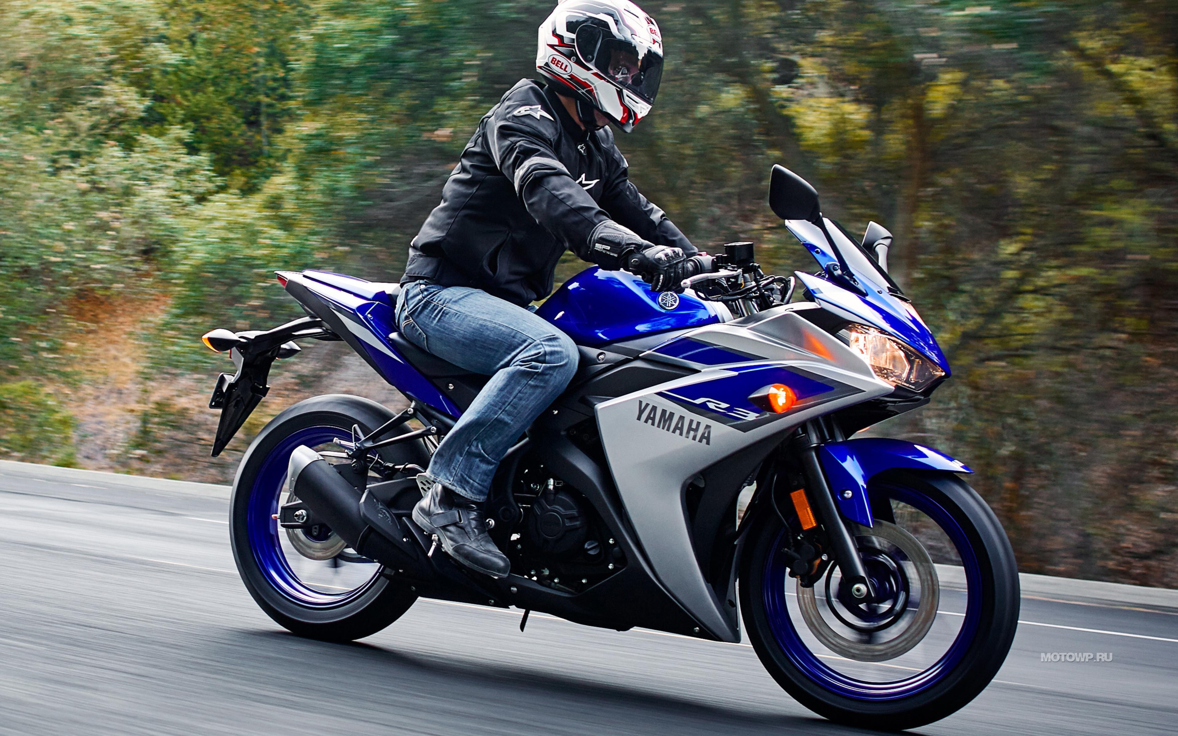 <p>Yamaha YZF R3</p>