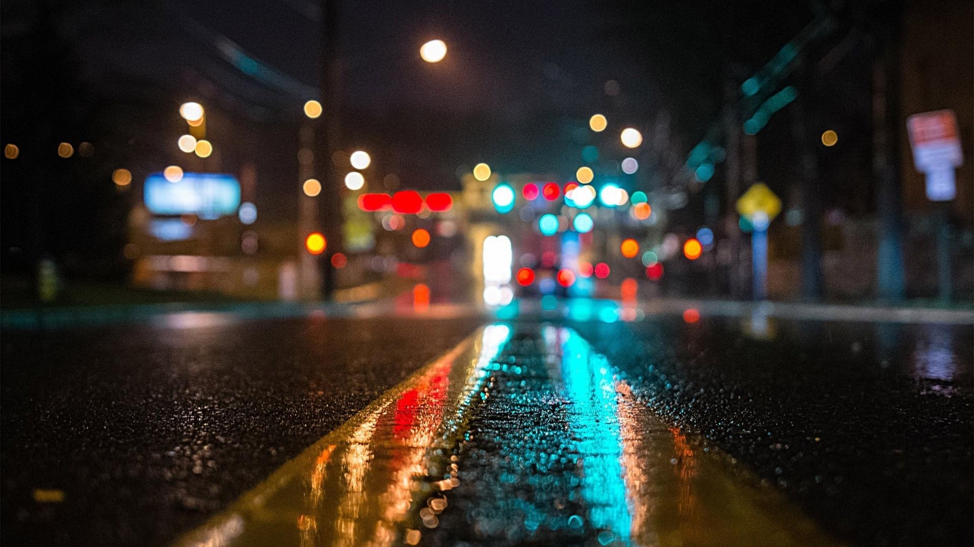 <p>Дорога после дождя</p>