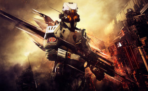 killzone: shadow fall, unit, helghast, abstract, cit