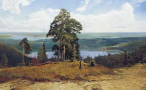 Русская живопись обои на рабочий стол рисунок природа скачать высокого качества
