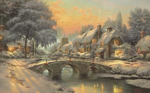 Рождество в деревне