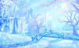Лед вода зима
