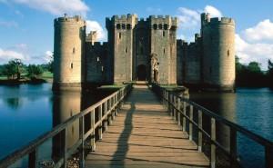 Мост в замок на рабочий стол пейзаж обои высокого качества