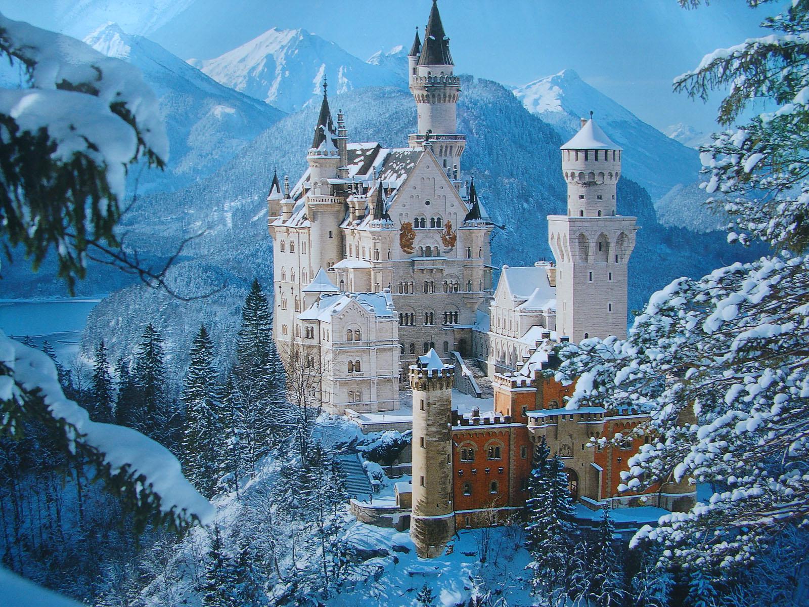 <p>Замок в горах</p>