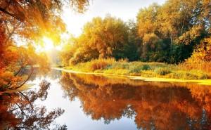 Осенний пейзаж, природа