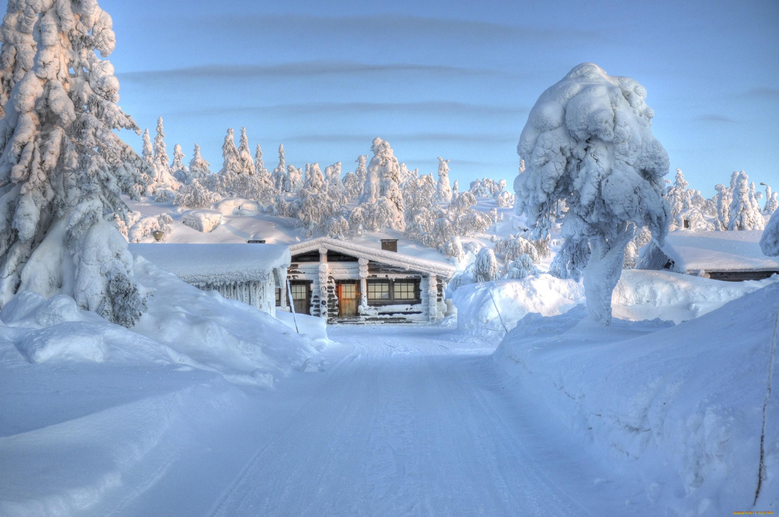 <p>Зимняя дорога</p>